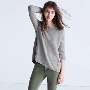 Madewell Riverside Textured Sweater Size Medium